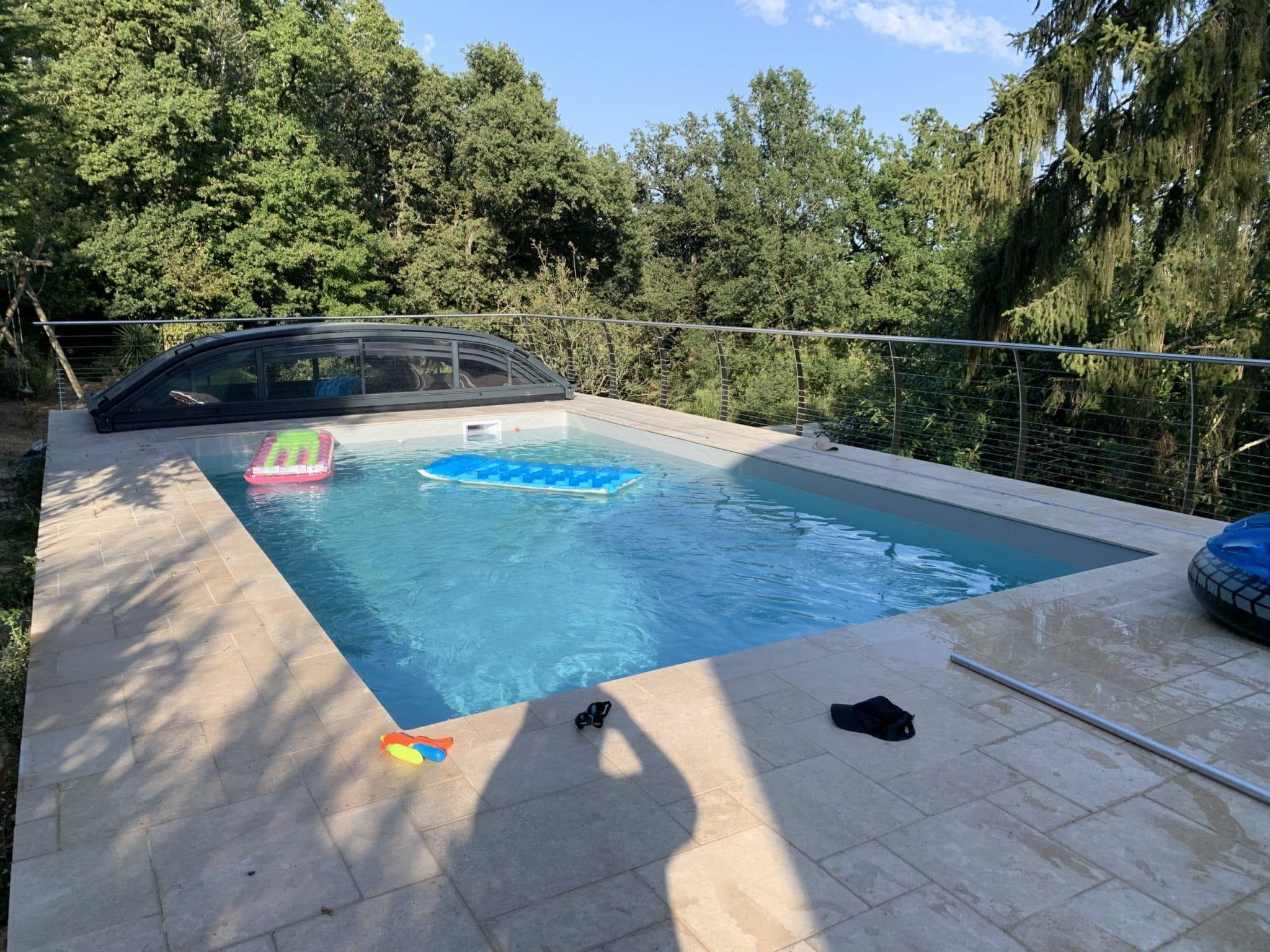 piscine sur mesure cholet réalisation