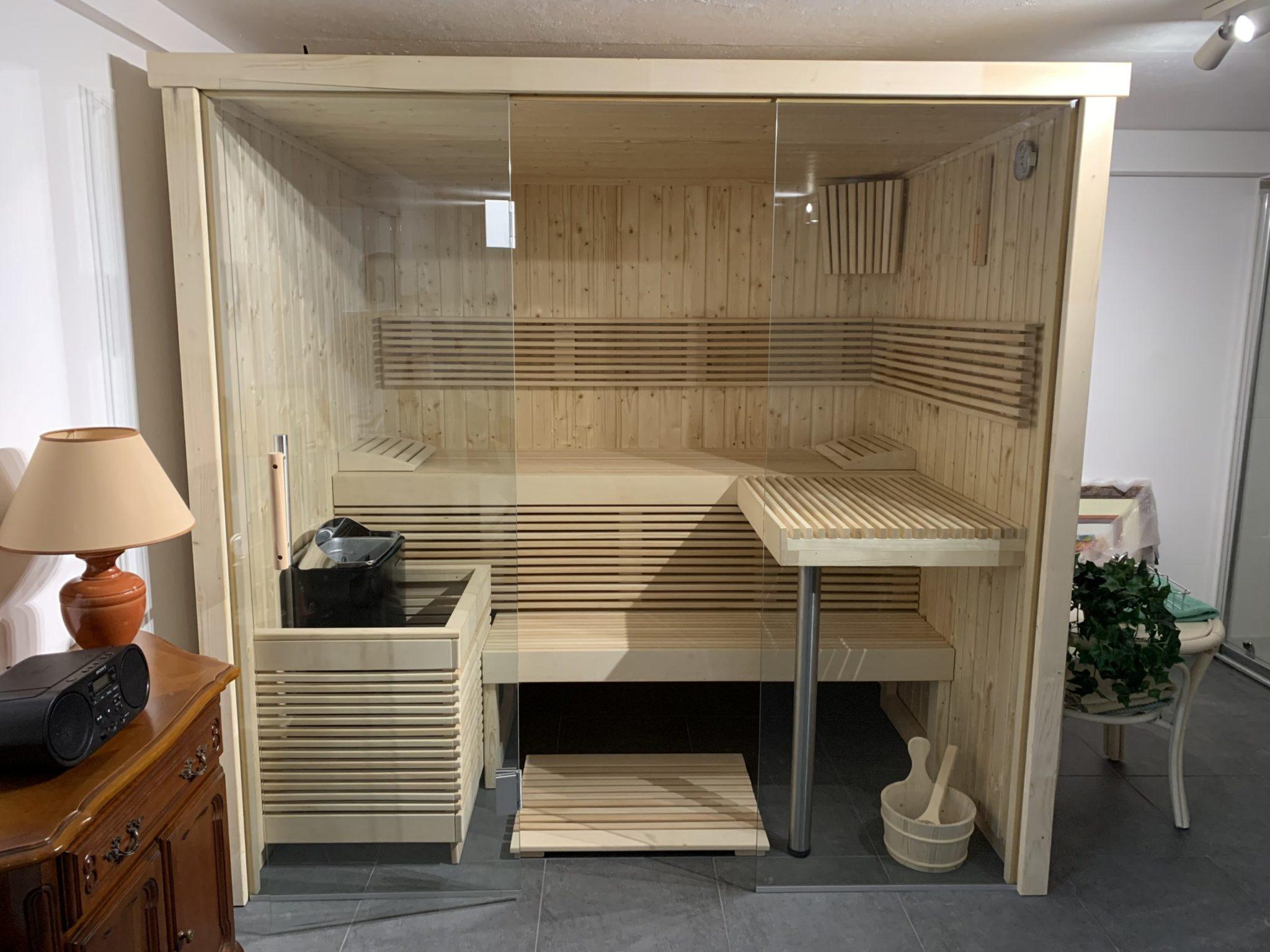 sauna cholet réalisation