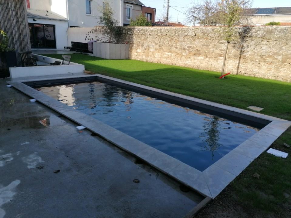constructeur piscine cholet réalisation